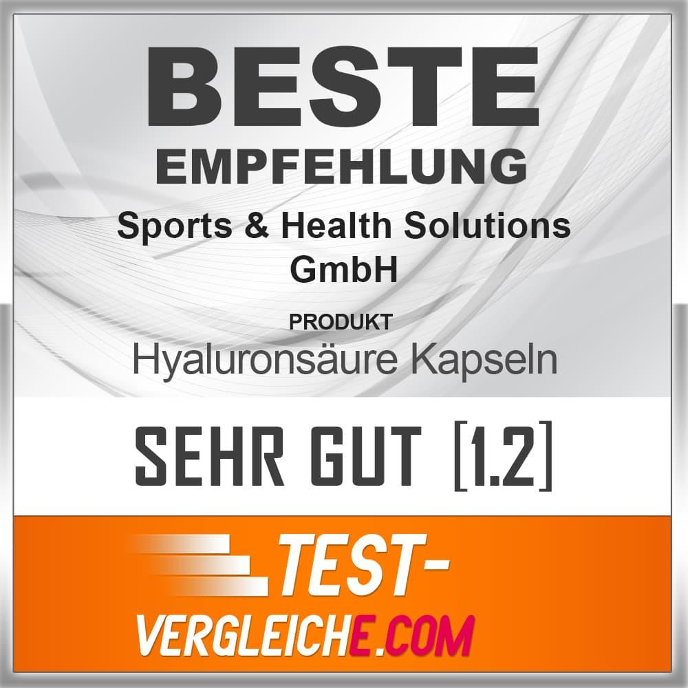 Hyaluronsäure Kapseln 200 mg von Sports&Health1